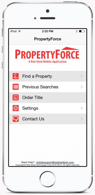 property records mobile app